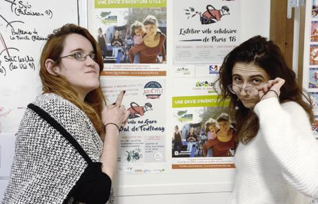 Etudes et Chantiers IdF - Elsa et Marion